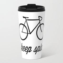 Just Keep Spinning Travel Mug