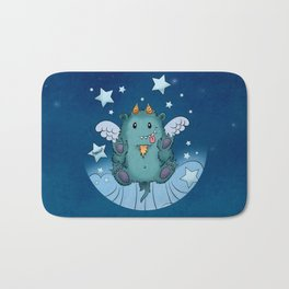 Twinkle Toes the Happy Chaos Monster Bath Mat
