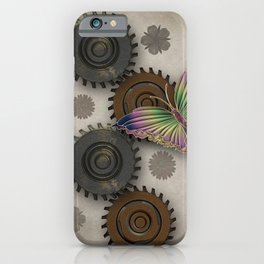 Butterfly Ex Machina iPhone Case