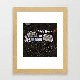 betting. Framed Art Print