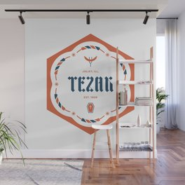 Tezak Family Badge Wall Mural