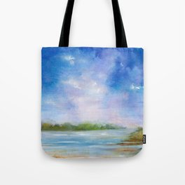 Ipswich Blue Tote Bag