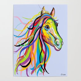 Horse of a Different Color Poster