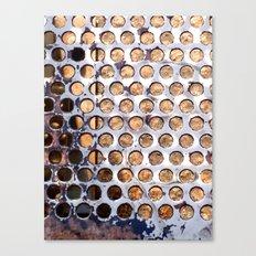 More Metal Dots Canvas Print