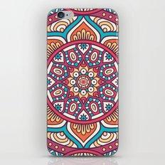 Mandala flower iPhone & iPod Skin