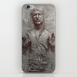 Carbonite iPhone Skin