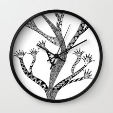Alluring Tree Wall Clock