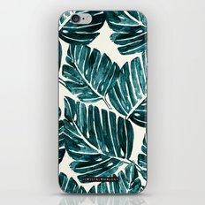 Jungle Leaves iPhone & iPod Skin