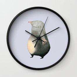 Mole Wall Clock