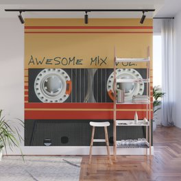 Awesome Mix Cassette Vol.1 Wall Mural
