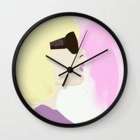 mod Wall Clocks featuring Mod by Melania B