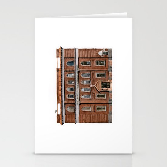 Wright Building Stationery Cards