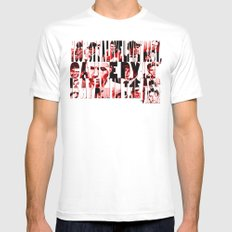 Sinatra Says... Mens Fitted Tee MEDIUM White