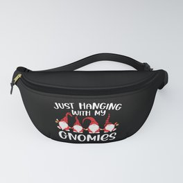 Hanging with My Gnomies Funny Kids Christmas Gifts Fanny Pack