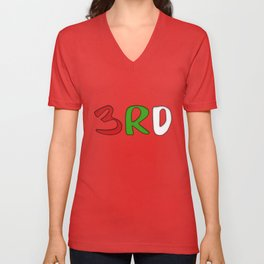 3RD Collection Unisex V-Neck