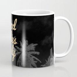 Good Vibes Only Palm Trees Coffee Mug