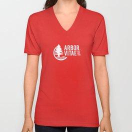 Arbor Vitae Logo Unisex V-Neck