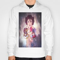 leia Hoodies featuring Leia by Artistic