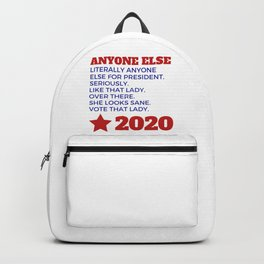 Anyone Else 2020 Backpack