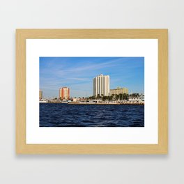 Fort Myers Yacht Basin Framed Art Print