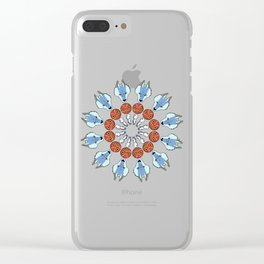 Mononoke Mandala Clear iPhone Case