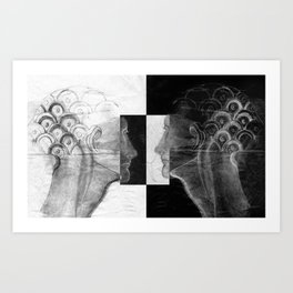 Archetypes of duality #1 Art Print