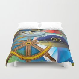 Nautical Design Duvet Cover