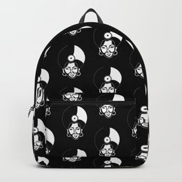 Afro Record Backpack