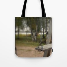 Lonely Swing Tote Bag