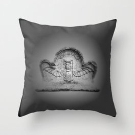 Flying hourglass Throw Pillow