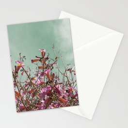 Flower Tree Stationery Cards