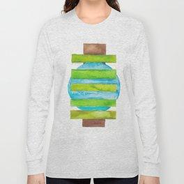 180818 Geometrical Watercolour 5 Long Sleeve T-shirt
