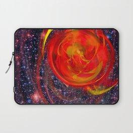 Red Star Burst Laptop Sleeve