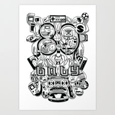 80's  Art Print