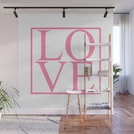 Love in a Pink Box Wall Mural