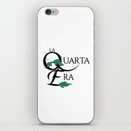 LaQuartaEra_White iPhone Skin