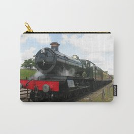 Vintage steam engine railway train Carry-All Pouch