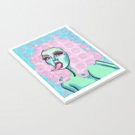 Medusa's Pink Horns Notebook