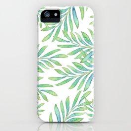 Tropical Palm Leaf 02 iPhone Case