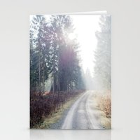 the shining Stationery Cards featuring shining wood. by zenitt