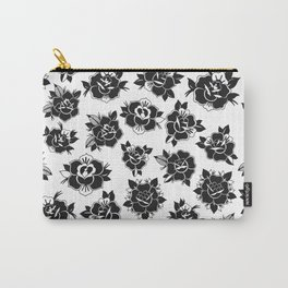 Traditional Roses Pattern Carry-All Pouch
