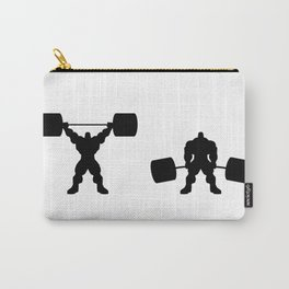 Heavy weight lifting up and down Carry-All Pouch