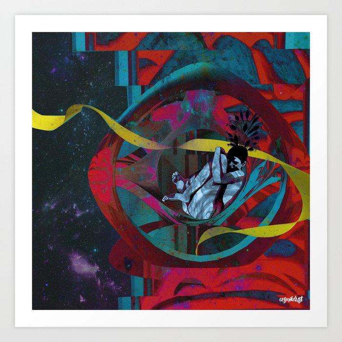 Deep Space Voyage 7 Art Print