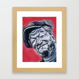 Redd Foxx Framed Art Print