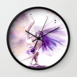 Mila The Ballerina Wall Clock