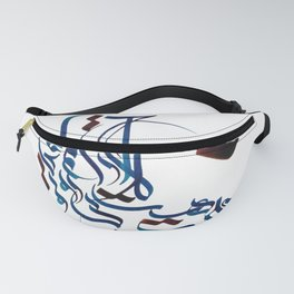Persian Calligraphy Fanny Pack