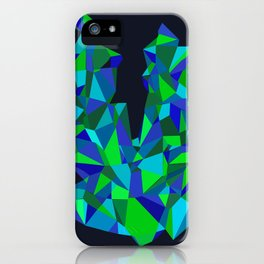 Triangle Abstract iPhone Case