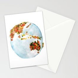 Blooming Earth Stationery Cards