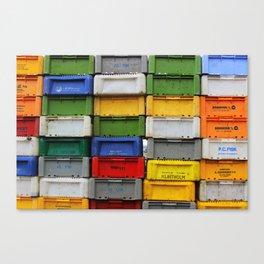 Cratestack Canvas Print