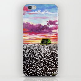Harvest Sunset iPhone Skin